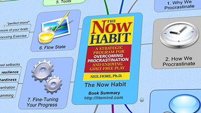 The Now Habit - Mind Map