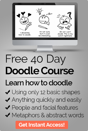 Free 40 Day Doodle Course